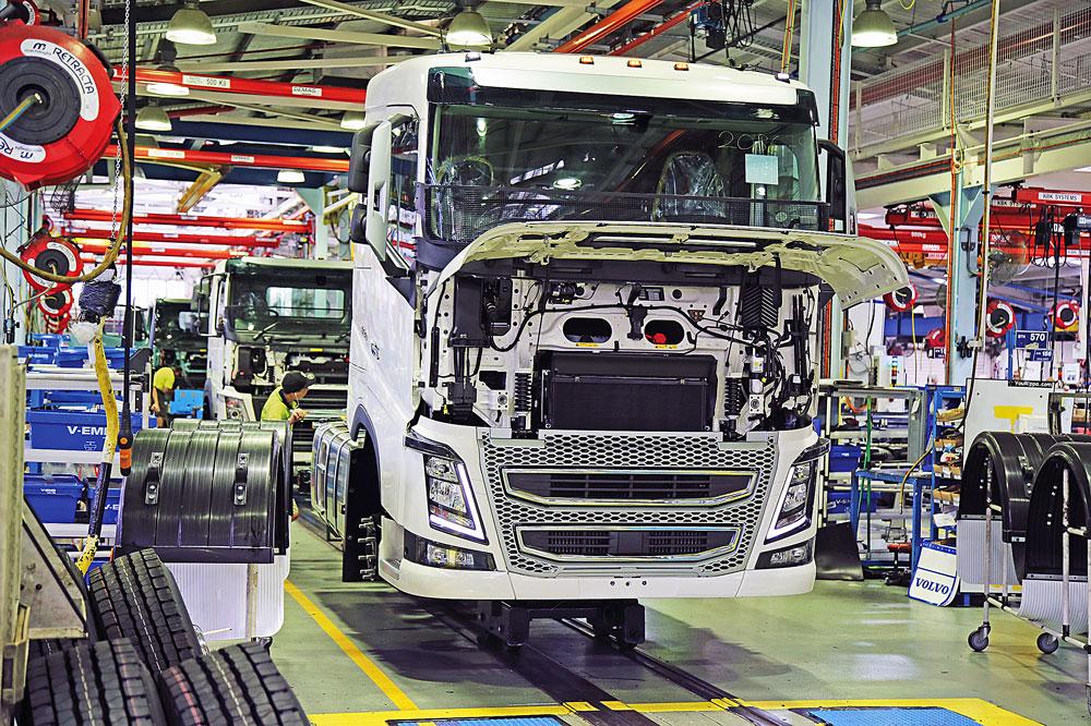 Volvo-factory