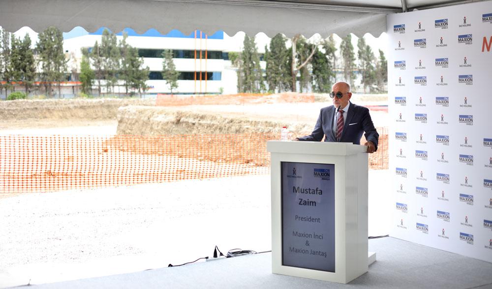 Maxion İnci ve Maxion Jantaş Yönetim Kurulu Başkanı Mustafa Zaim