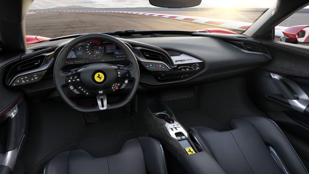 Ferrari-SF90-Stradale-Kokpit