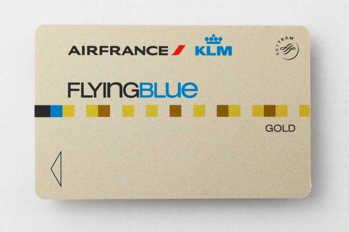 Flying-Blue-Gold