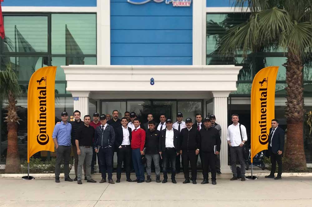 Continental Türkiye tarafından verilen ve iki gün süren eğitimlere 120 sürücü katıldı.