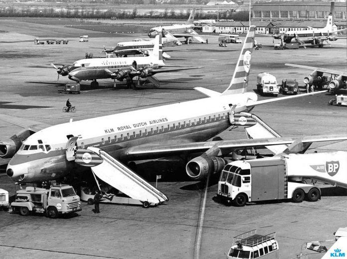 KLM-tarihi