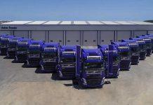 Köknar Group'a teslim edilen Volvo 4H460 4x2 çekici filosu
