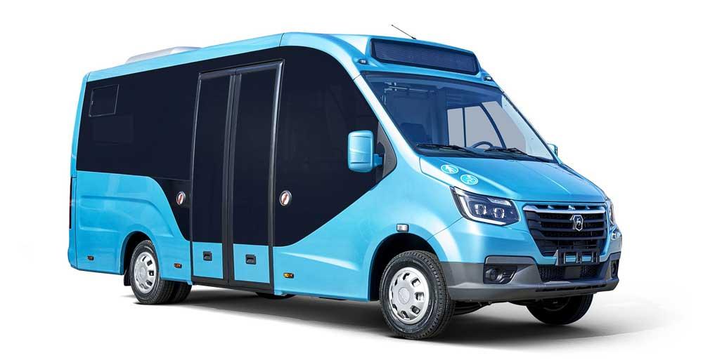 Low-floor-minibus