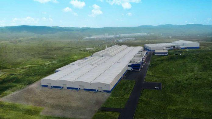 Çankırı Yakınkent OSB'de yer alan Ako Akü fabrikası