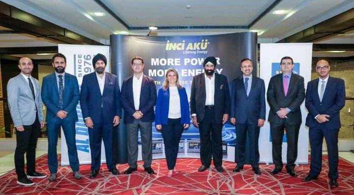 İnci Akü Dubai toplantısı