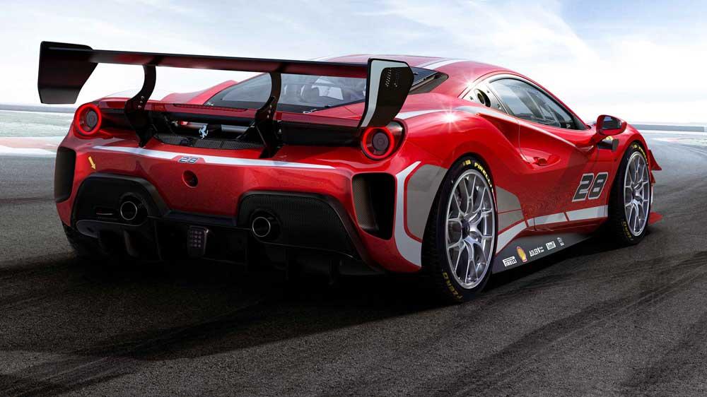Ferrari'nin tüm taleplerini karşılayan lastik, yeni yarış otomobilinin bir önceki modele göre daha hızlı tur zamanı yapmasına yardımcı oluyor.