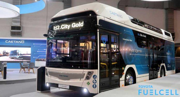 H2.City Gold modeli, tavanına yerleştirilen ve toplam kapasitesi 37.5 kg olan 5 hidrojen tankına sahip.
