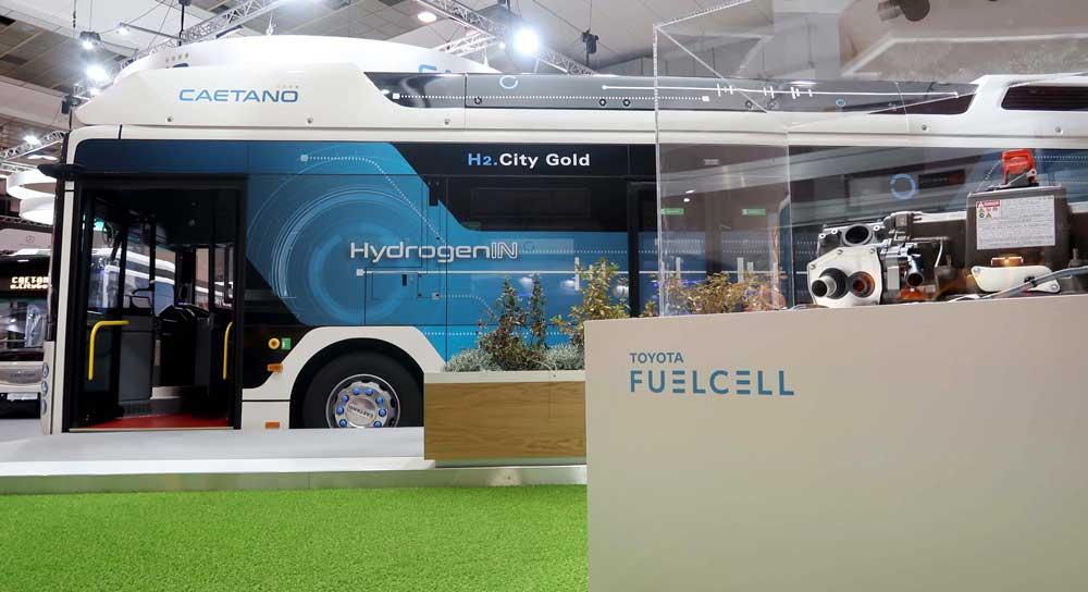 Toyota'nın geliştirdiği hidrojen yakıt hücresi ilk kez ticari otobüste kullanıldı.