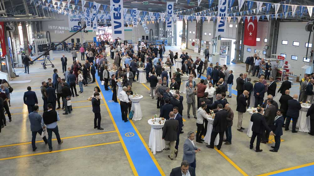 İstanbul Fiat'ın yeni tesisi 9 bin metrekaresi kapalı olmak üzere 59 bin metrekare alan üzerine kurulu.