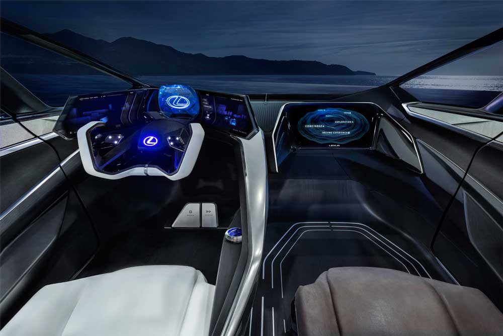 """""""SkyGate"""" cam tavan, ses ve el hareketleriyle kontrol edilebiliyor."""