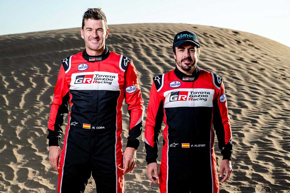 Marc Coma ile Fernando Alonso
