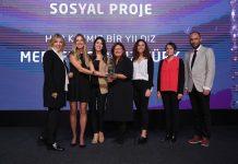 """Mercedes-Benz Türk'ün """"Her Kızımız Bir Yıldız"""" projesine Sürdürülebilir İş Ödülü"""