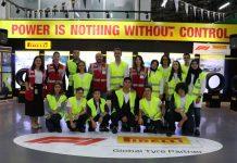 Pirelli Anadolu Lisesi öğrencilerinin fabrika ziyareti
