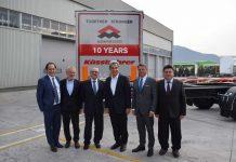 Tırsan, Autamarocchi firmasına 100 adet treyler satışı gerçekleştirdi.