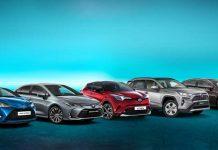 Toyota hibrit ürün yelpazesi