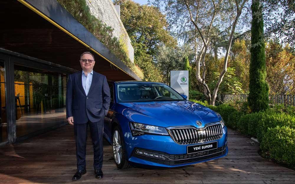 Yüce Auto Skoda Genel Müdürü Zafer Başar, Türkiye'nin Avrupa'nın en çok Superb sedan satan pazarları arasında yer aldığını belirtti.