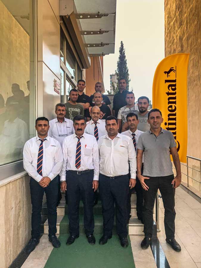 Continental Türkiye As Adana Seyahat otobüs sürücülerine eğitim verdi.
