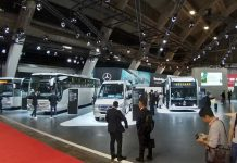Daimler'in Busworld Europe 2019 standı