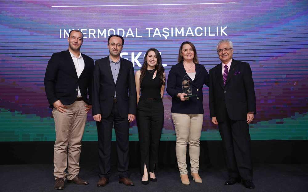 Sürdürülebilir İş Ödülleri'nde Ekol, ödül alan tek lojistik şirketi oldu.