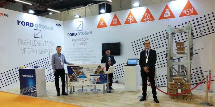 Ford Otosan Paketleme Dizayn ve Test Merkezi, Uluslararası Ambalaj Endüstrisi Fuarı'nda tanıtıldı.