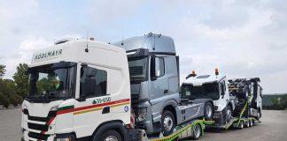 Hödlmayr Nakliyat, Mercedes-Benz çekici ve kamyonlarının Aksaray'dan dağıtımını gerçekleştiriyor.