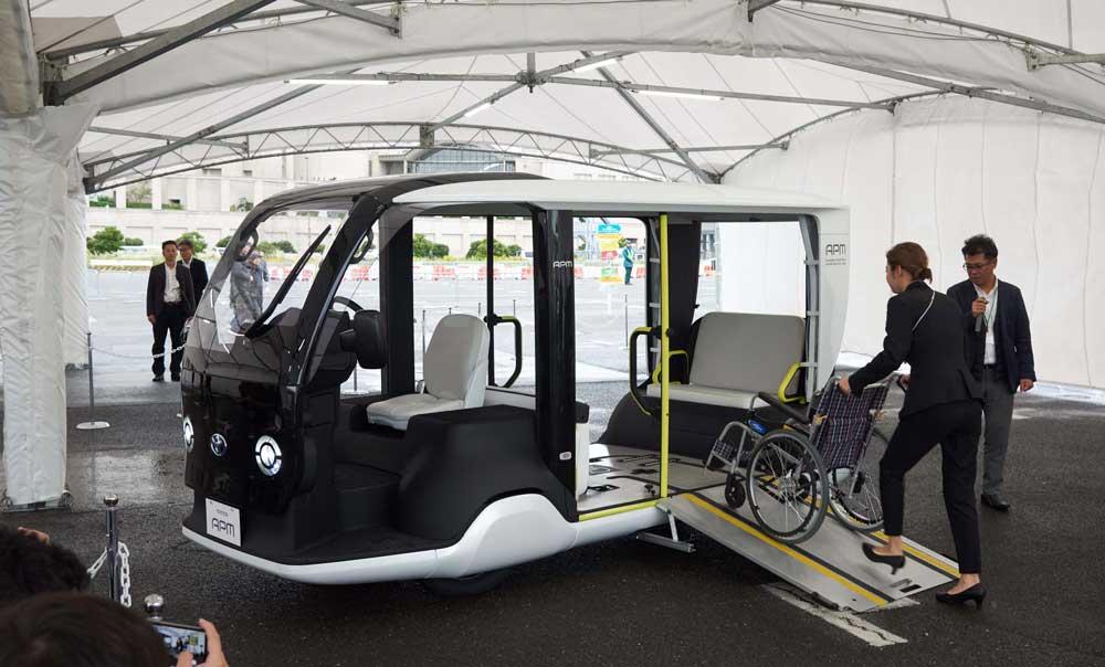 Toyota'nın otonom sürüş çalışmalarını yürütmek üzere hazırladığı ve ilk kez 2018 yılında tanıttığı e-Palette kavramı, Tokyo 2020 olimpiyatları için seri olarak üretilmeye başlayacak.
