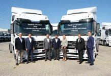 Truckstore'dan Toksuzlar Transport'a gerçekleştirilen araçların teslimat töreni