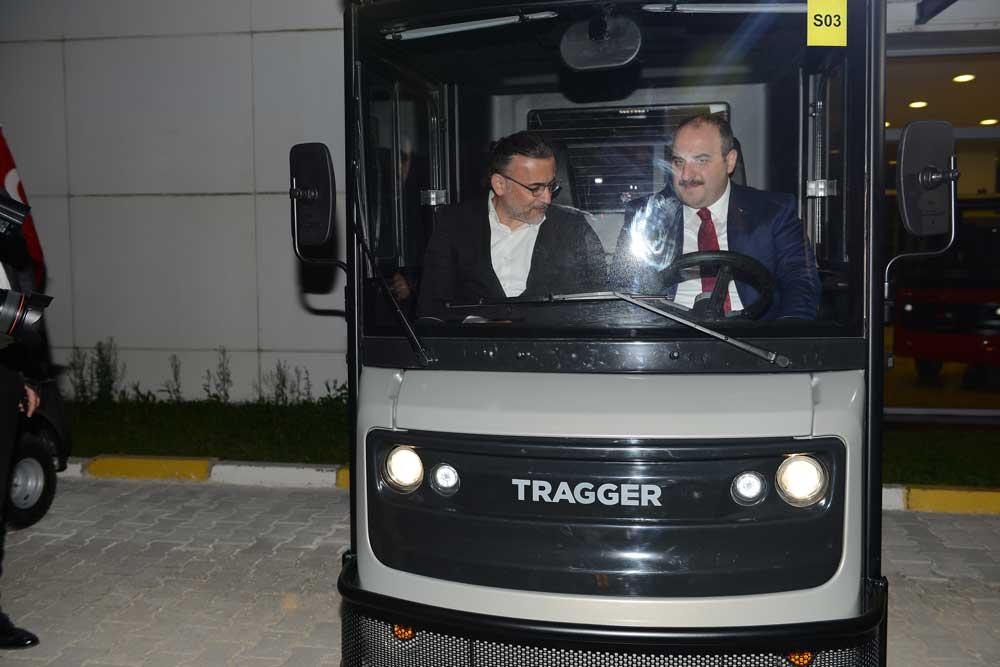 Sanayi ve Teknoloji Bakanı Mustafa Varank'ın TRAGGER üretim tesisini ziyareti