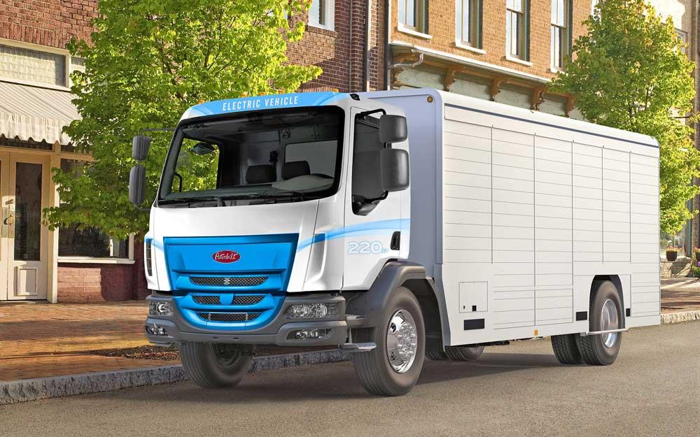 Peterbilt-Model-220-EV-Truck
