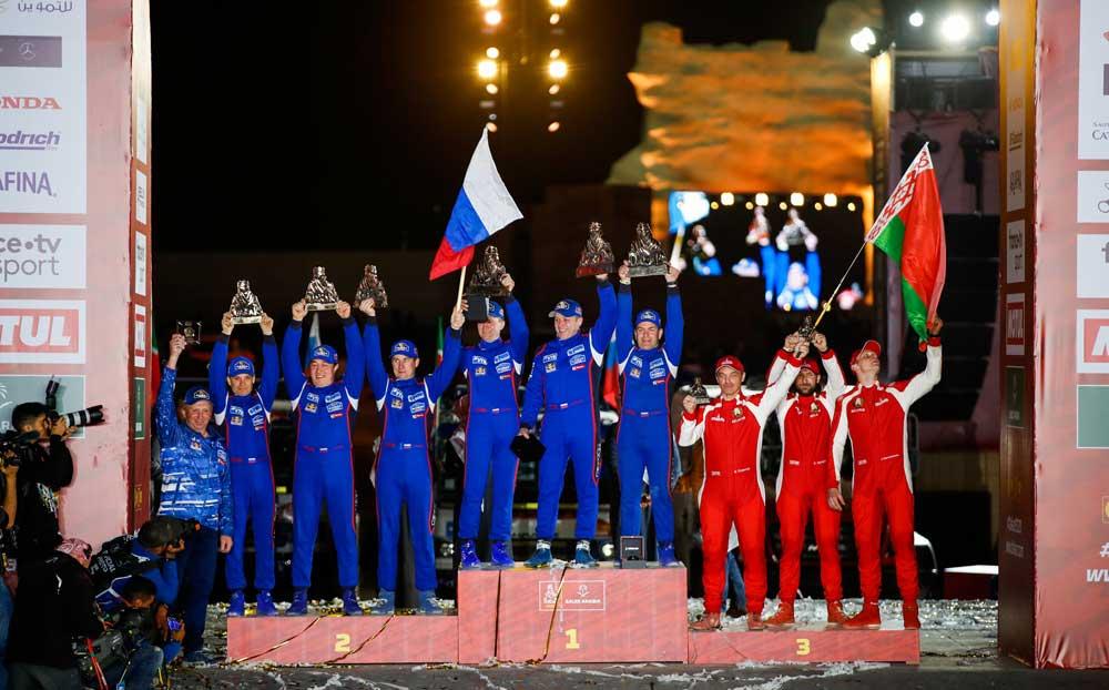 dakar2020-podium