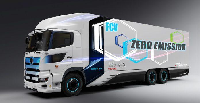 Toyota-Hino-isbirligi-Yakit-Hucreli-kamyon