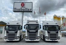 Scania-Tonbullar-Beton