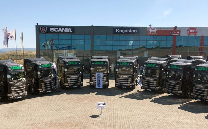 Scania teslimat_çamsan