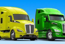paccar-2021-Next-Gen-T680-and-579-Yellow-and-Green