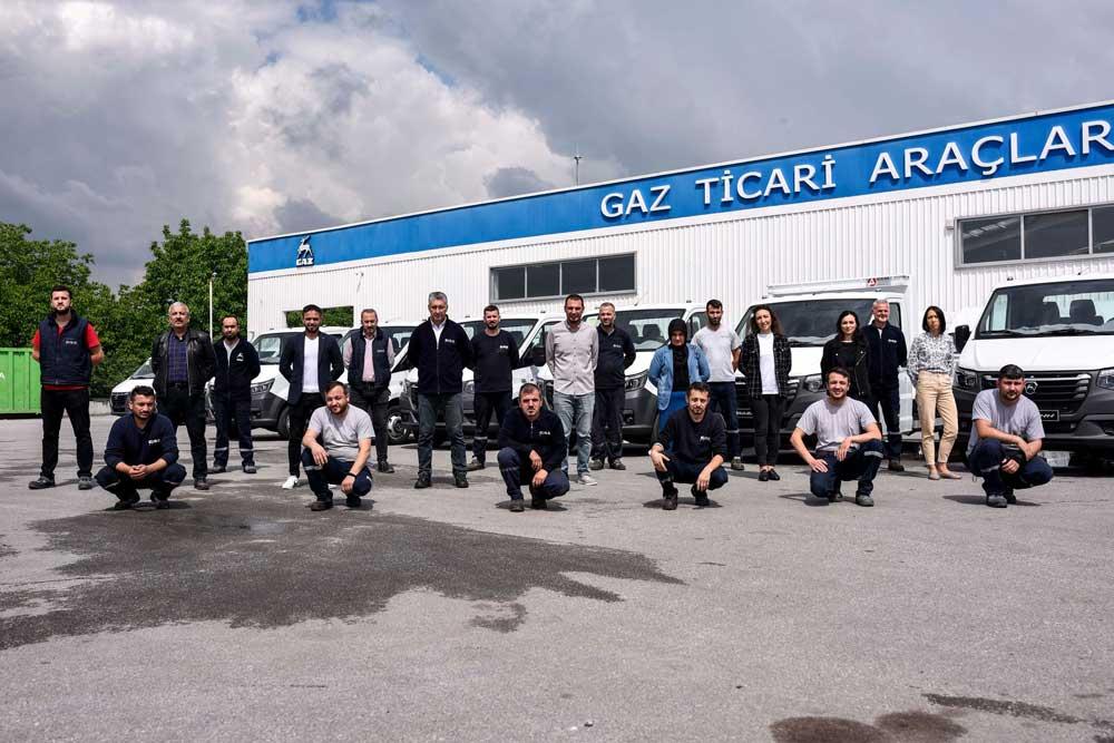 GAZ-Turkey-team